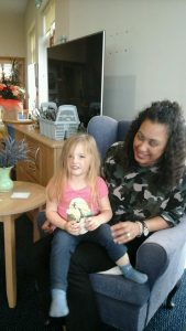 Intergeneration visits from nursery give a boost to retirement house