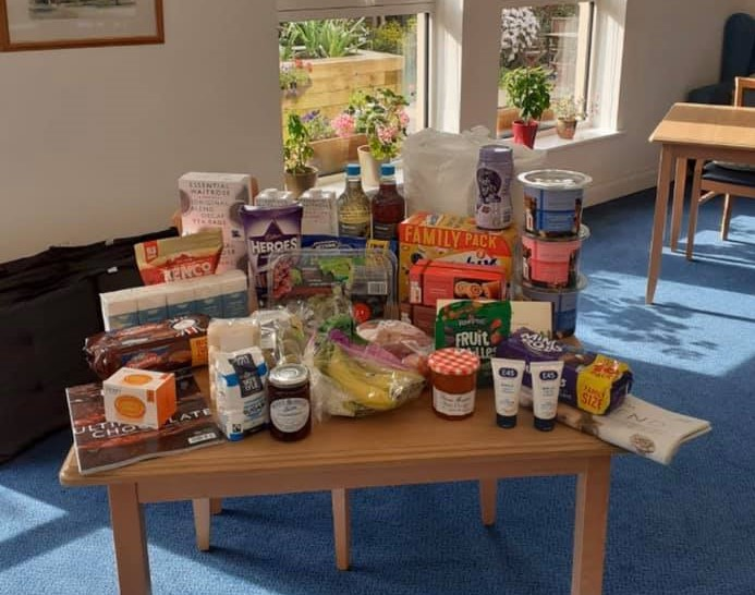 Abbeyfield care box from Waitrose in Keynsham