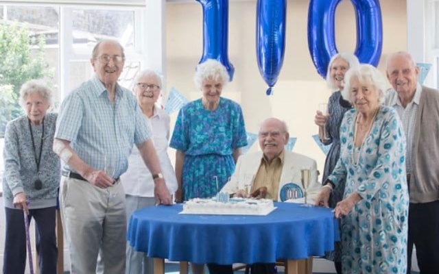 Celebrating 100 Years For A Special Resident